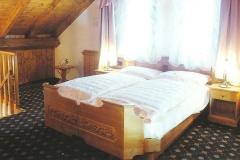 Zona notte in una suite