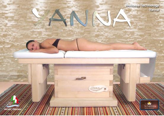 Lettino e Massaggio Yanna