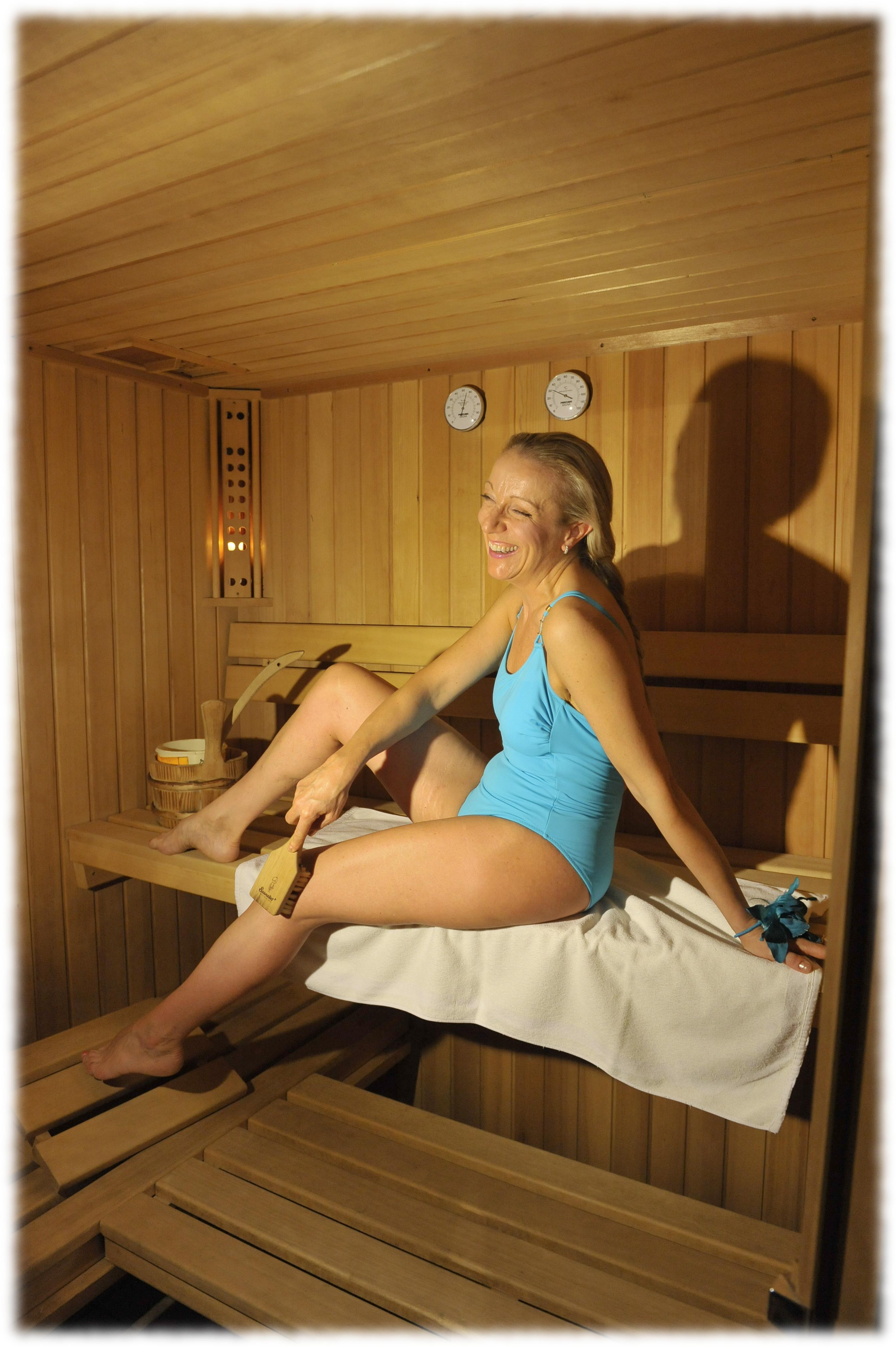 In sauna si sorride
