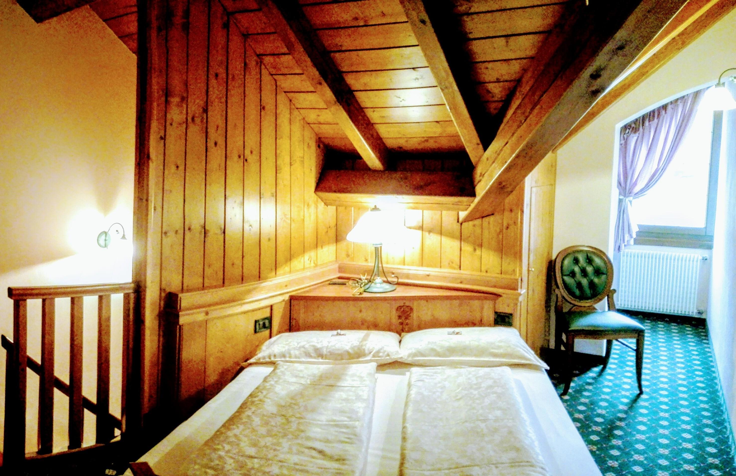 Zona notte di una suite